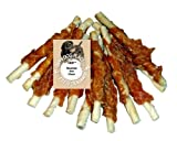 HDP Chicken Hide Dog Treats 72 pack