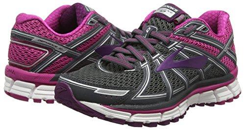 pink 10 Defyance Multicolore Running 091 plum Brooks Chaussures De Femme ebony qFndZxZ8w