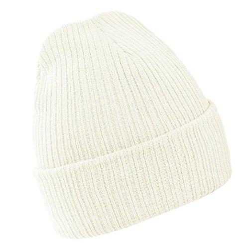 Moore Mens Winter Wool Knitting Warm Hats Unisex Earmuffs Beanie Skull Cap