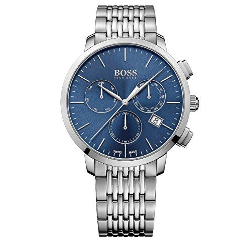 Hugo Boss Swiss Made Slim Chronograph Mens Watch ()