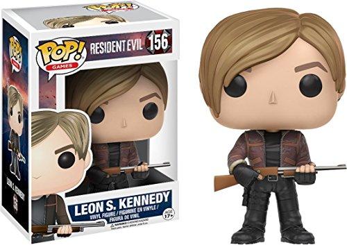Funko POP Games: Resident Evil-Leon Kennedy Action Figure