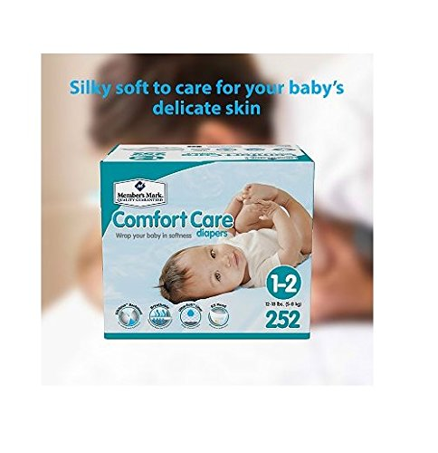 Member's Mark Comfort Care Baby Diapers (Size 4 - 200 ct.)
