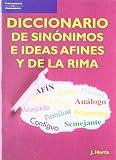 Diccionario de Sinonimos E Ideas Afines Y de la Rima