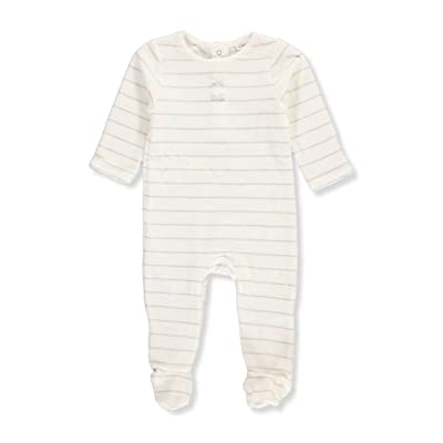 absorba Baby Girls' Velour Footed Coverall