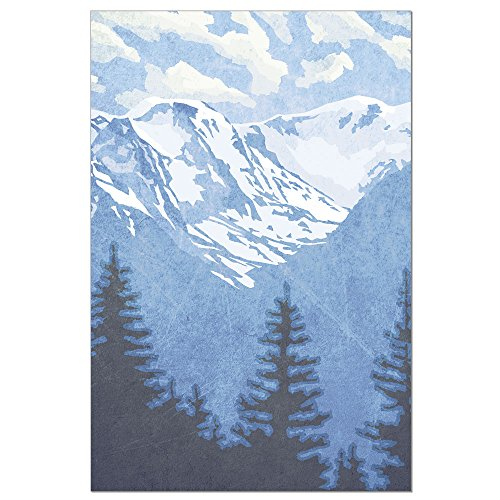 Tree-Free Greetings ECOnotes Blank Note Cards, Matching Envelopes, Blank Stationary Card Set, 4