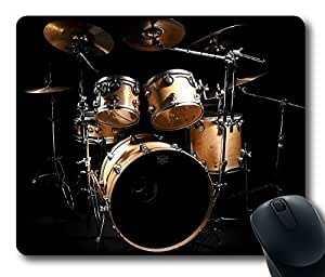 Musical Instruments Drum Masterpiece Limited Design Oblong Mouse Pad by Cases & Mousepads