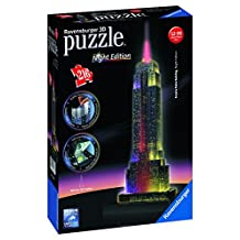 Ravensburger Empire State Building, Night Edition, 3D Puzzle (216-Piece)
