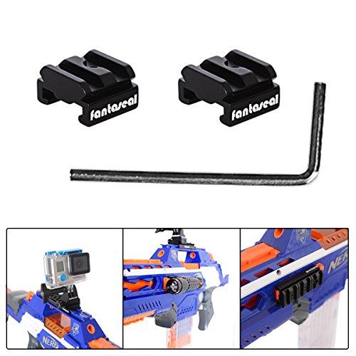 Fantaseal Aluminum Alloy Toy Gun Rail for Nerf to Picatinny