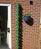 Polanter Hanging Vertical Gardening Flower Pot/Patio Garden Planter/Herb Gardens/Strawberry Planter/HangVegetable Pots for Herbs