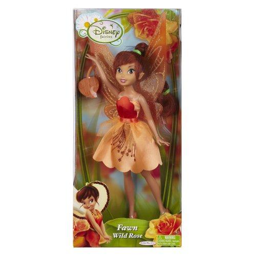 Rose Fairy Doll - Disney Fairies Fashion Doll - Wild Rose Fawn