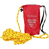 8milelake Rescue Throw Bag with Mult-Size Floating Rope for Boating Kayaking Ice Fishing Sailing