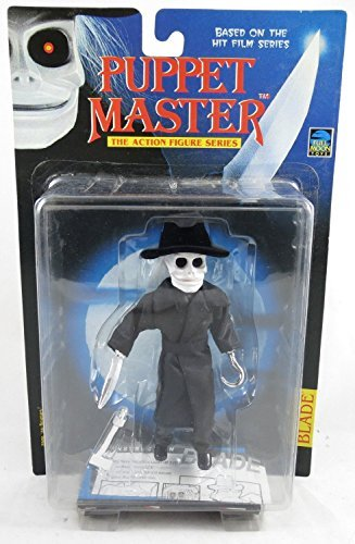 - Puppet Master Blade in Black Trench Coat Vintage 1997 Action Figure