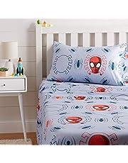 AmazonBasics by Marvel Spiderman Spidey Crawl Sheet Set - Twin