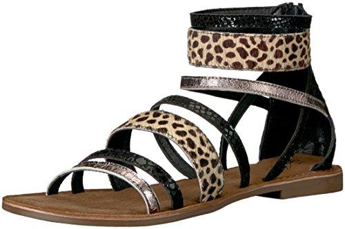 Sandalias Negro Sandalias para Gladiator Step Spring mujer EvEwxrnWaH