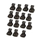 uxcell Furniture Wood Case Zinc Alloy Tiger Claw Design Foot Corner Protector 15pcs