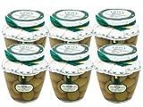 Bella di Cerignola Olives by DeCarlo (Case of 6 - 580 Gram Jars)