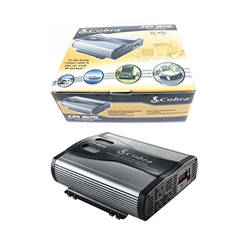 Cobra CPI 1575 1500 Watt 12 Volt DC to 120 Volt AC Power Inverter ()