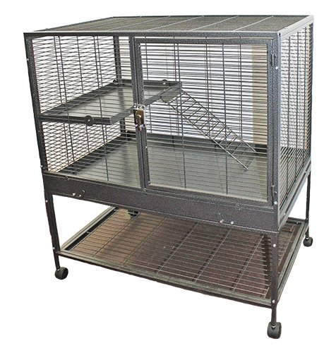 Mansion Cage for Chinchillas, Hedgehogs, Rats, Ferrets, D...