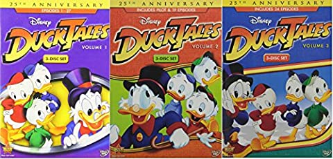 DuckTales Volume 1 2 & 3: The Complete Collection [DVD 70 Episodes] (Ducktales Volume 2 Dvd)