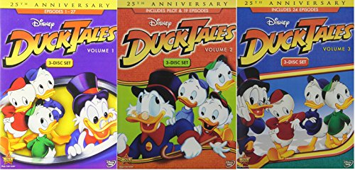 DuckTales Volume 1 2 & 3: The Complete Collection [DVD 70 Episodes]