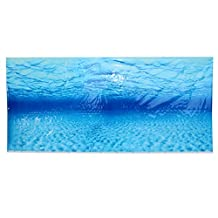 Refaxi Blue Sea Ocean Fish Tank Aquarium Background Seascape Poster Wall Decoration