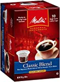 Melitta Single Cup Coffee for K-Cup Brewers, Classic Blend,10 Count (Pack of 6)