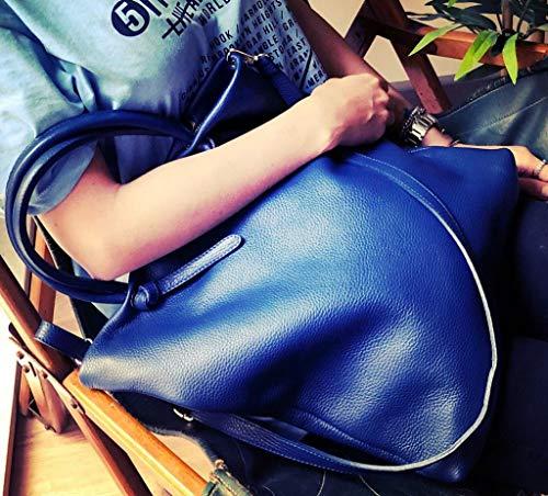 Naturel Élégant Products Unité Tote Main À Shopper dernière Cuir Sac Chic Gris Bag Fabriqué Italie En Iob fnOWUSqS