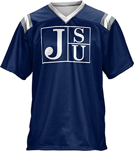 Jackson State Football (ProSphere Jackson State University Men's Football Fan Jersey - Goal Line FCF41)