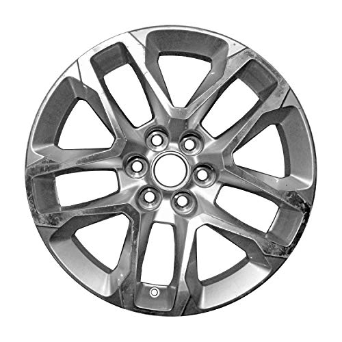 Multiple Manufactures ALY05843U15 Silver Wheel with Machined and Meets All Federal Motor Safety Standards (18 x 7.5 inches /6 x 135 mm, 50 mm Offset)