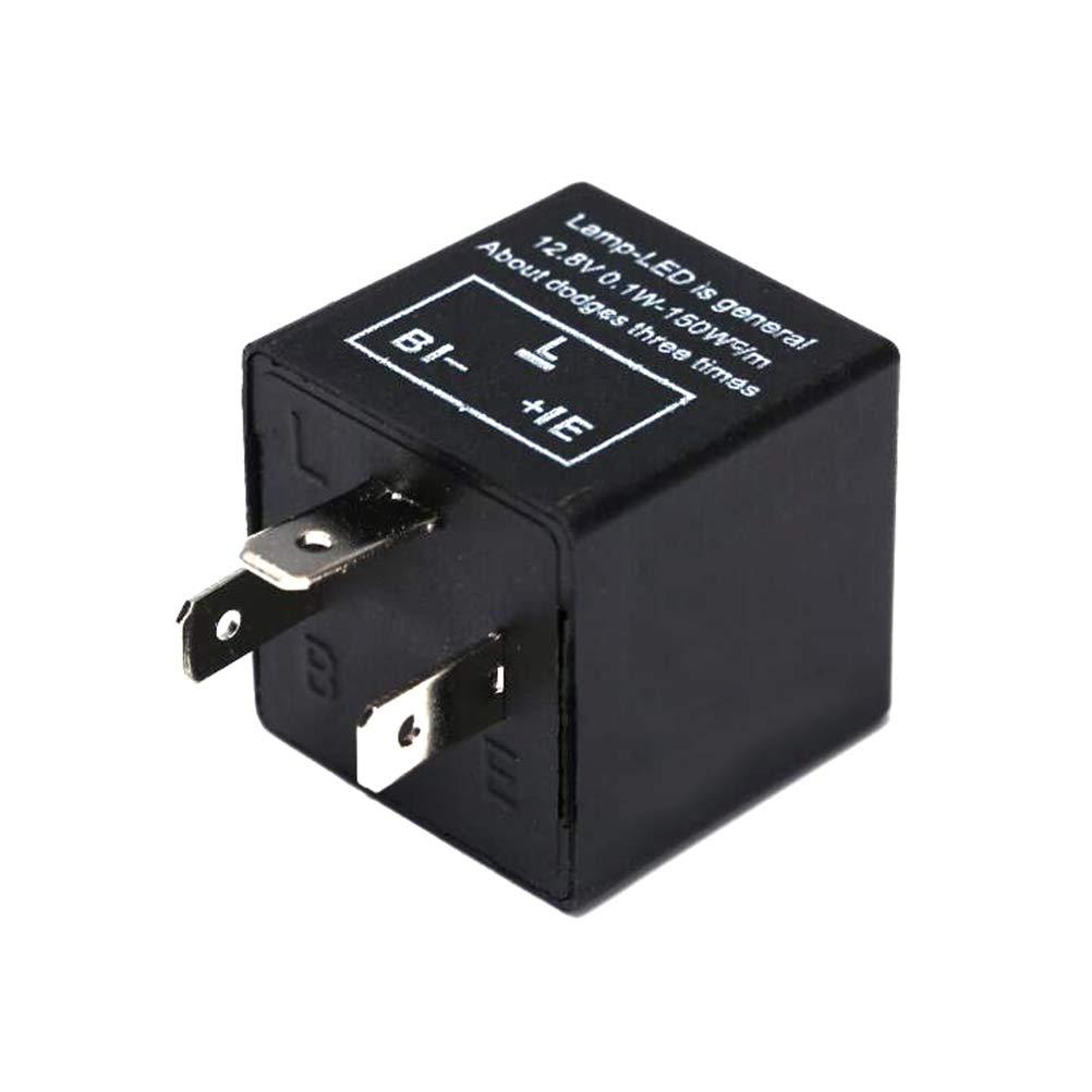 FADACAI CF14 3 Pin Adjust 12V LED Flasher Relay Car Turn Signal Indicator 1Pc