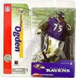 NFL Series 9 Figure: Jonathan Ogden with Purple Ravens Jersey
