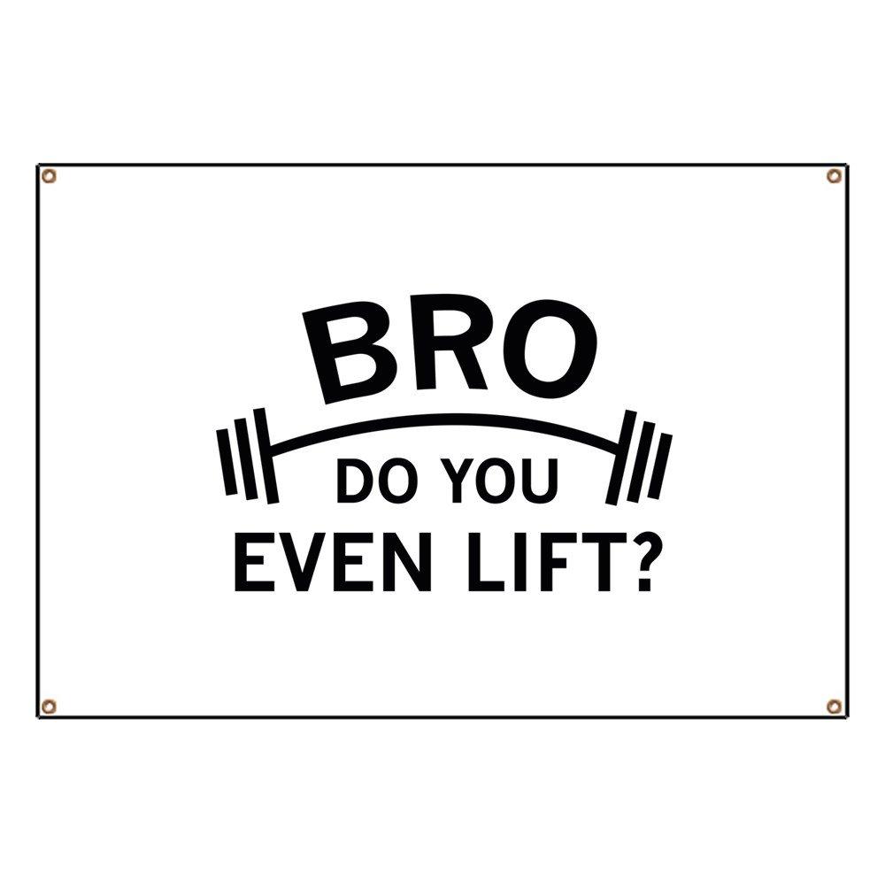 CafePress Do You Even Lift? - Vinyl Banner, 44''x30'' Hanging Sign, Indoor/Outdoor