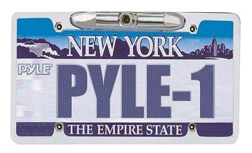 Pyle PLCM21 Car Van Vehicle Waterproof License Plate Color