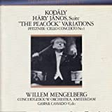 Kodaly: Hary Janos Suite (1940); The Peacock Variations (1939) / Pfitzner: Cello Concerto, No. 1 (1940)