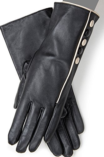Ladies Lined Leather Gloves  Featured In Tv Series  Scandal    6 5