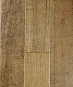 Max Windsor Floors TLEHY0711 Handscraped Engineered Hardwood, Sahara Maple