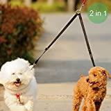 Vastar Double Dog Walker, Adjustable Heavy Duty