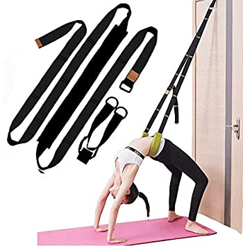 Amazon.com: XEMZ Yoga Fitness Stretching Strap - Back Bend ...
