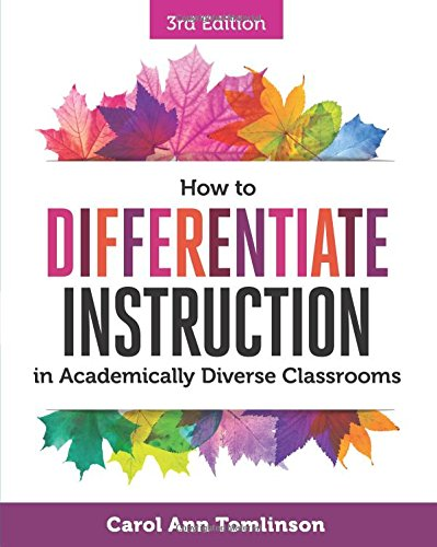 Pdf Teaching How to Differentiate Instruction in Academically Diverse Classrooms, 3rd Edition