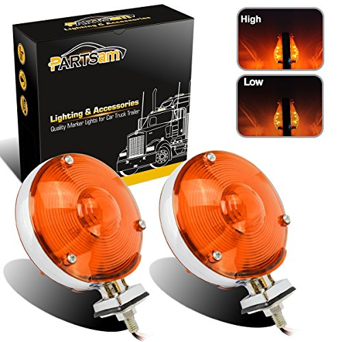 Light Assembly Park Signal (Partsam Waterproof 2x LED 4