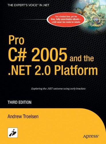 Pro C# 2005 and the .NET 2.0 Platform (Expert's Voice)