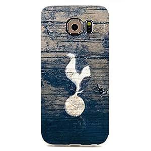 Fashion Design FC Tottenham Hotspur FC Team Logo Phone Case Cover For Samsung Galaxy S6edge 3D Plastic Phone Case