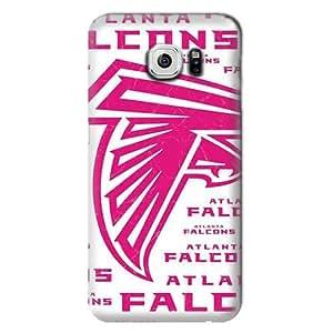 S6 Case, NFL - Atlanta Falcons Pink Blast - Samsung Galaxy S6 Case - High Quality PC Case