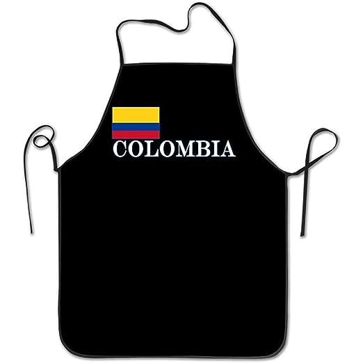 Myrdora Grembiule da cucina Unisex con Bandiera Della Colombia e ...