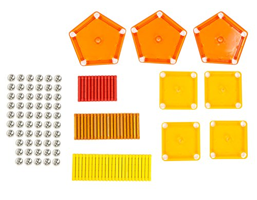 amazoncom geomag 120 piece color construction set with assorted panels mentally stimulating for children and adults safe and construction for ages 3 - Geomag Color 86