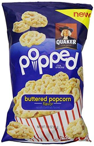 popped butter popcorn - 5