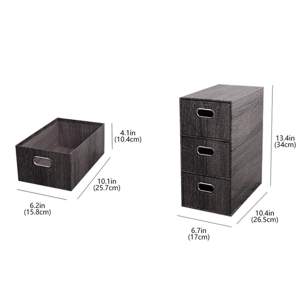 Amazon.com: Cajas de almacenamiento con tapa, grandes ...