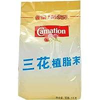 雀巢咖啡奶精粉 三花植脂末伴侣 三花奶精粉1kg餐饮装 奶茶原物料