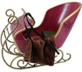 "Victorian Holiday Sleigh,Reigns & Blanket Fits 18"" American Girl® Doll & Horse Furniture & Accessory"