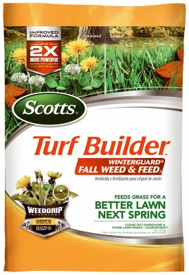 Scotts 50250 Turf Builder Winter Guard Fall Weed and Feed Fertilizer